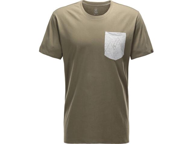 Haglöfs Mirth Camiseta Hombre, sage green